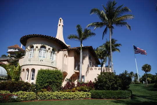 President Donald Trump's Mar-a-Lago resort in Palm Beach, Florida