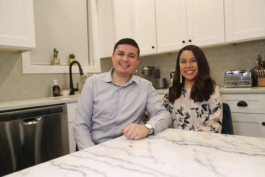 Naul Valdez and Lily Flores moved into their newly-constructed Near West Side home in Chicago in August 2019.
