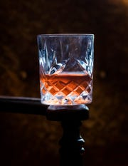 A sazerac made by the bartenders at The 86 Room in downtown Fort Myers.
