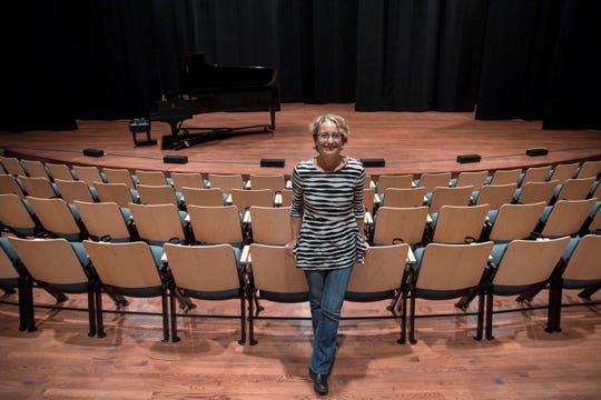 Amy Nowacki is the architect that designed the new BIG Arts space on Sanibel. The new theater seats more than 400, and there is also a large gallery and classroom space.
