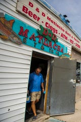 David Jakob picks up some bait Friday afternoon, January 31, 2020, at D & D Matlacha Bait and Tackle. The iconic and family-owned shop on Pine Island Road has been in business for 30 years. The city of Cape Coral  bought the property and may now sell the land.