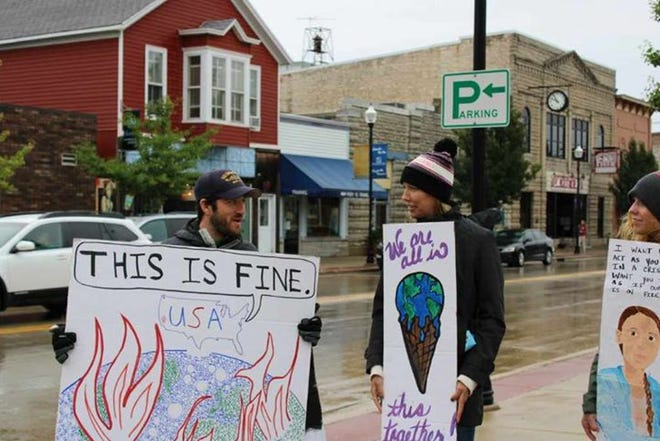 Door County locals paricipated in the Global Climate Strike this fall. Now, new group Citizens' Climate Lobby of Door County hopes to push these messages all the way to lawmakers.