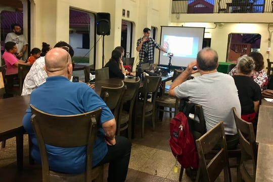 Independent Guåhan held a general assembly meeting Jan. 30, where Kyle Galindez, a Ph.D. student at University of California, Santa Cruz, discussed how the island's sovereignty is necessary to advocate for its environment.