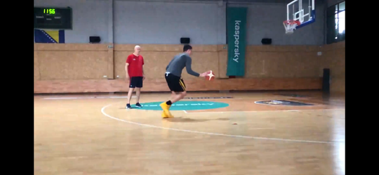 Luka Garza's family rented a gym for him to workout in while in Sarajevo. It was two hours devoted to offense in the morning and two devoted to defense in the evening.
