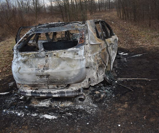 The Tennessee Bureau of Investigation continues to investigate the homicide of two individuals found in a burned Ford Edge near Great River Road in Dyer County, Tenn. on Feb. 2, 2019.