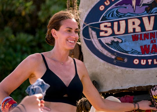 "Kim Spradlin is competing on ""Survivor: Winners at War."""