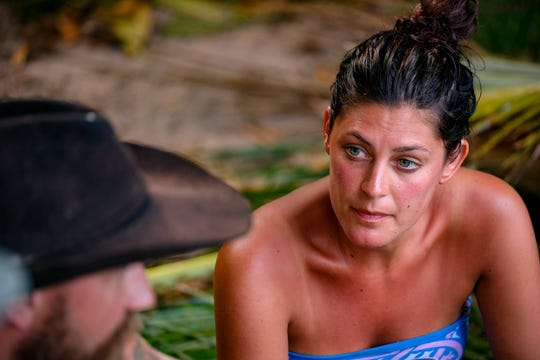 """Michele Fitzgerald is competing on """"Survivor: Winners at War."""""""