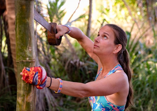 """Amber Brkich Mariano is competing on """"Survivor: Winners at War."""""""