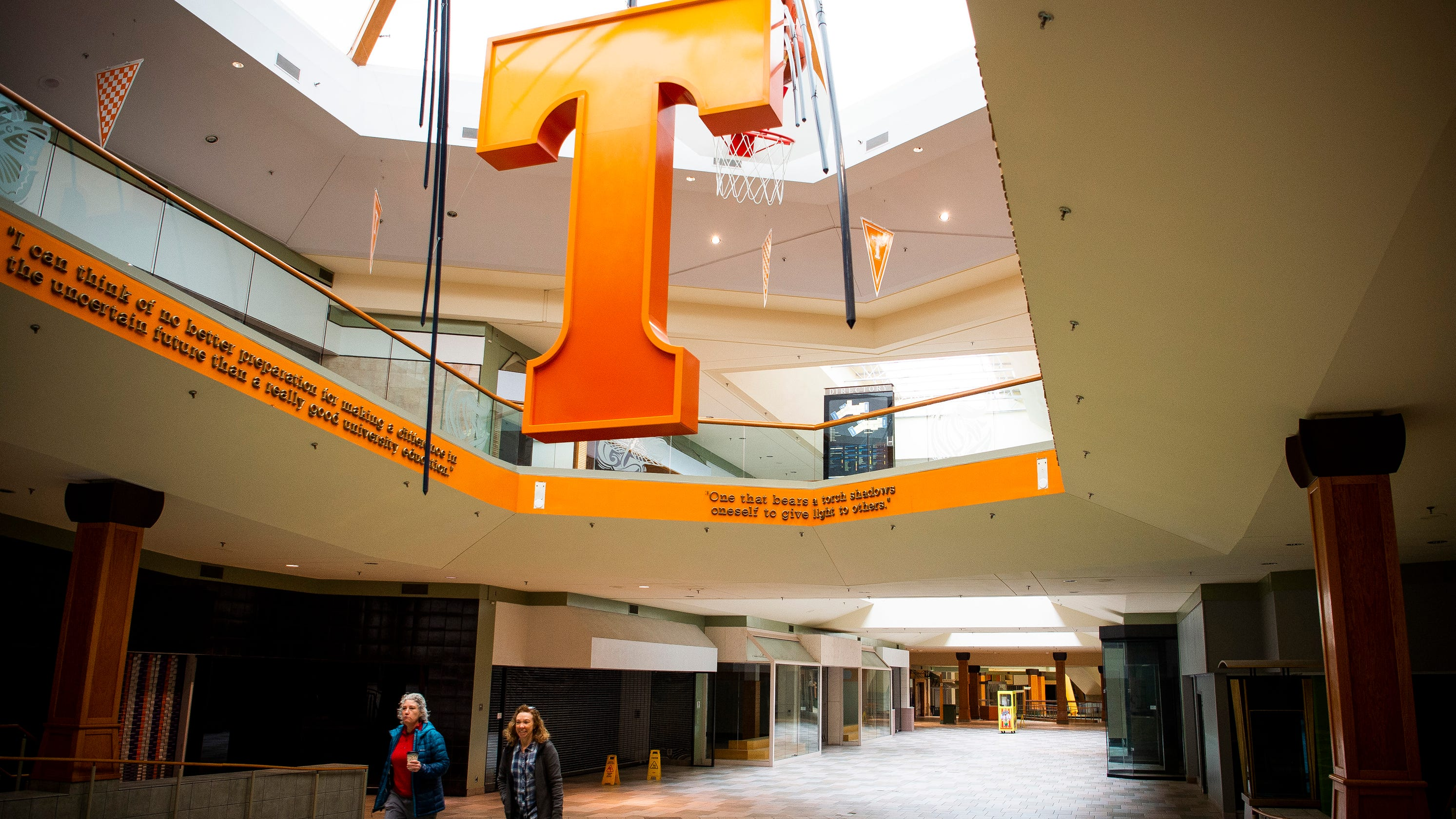 How much would you pay? Knoxville Center Mall's 'Power T' goes for more than $10K