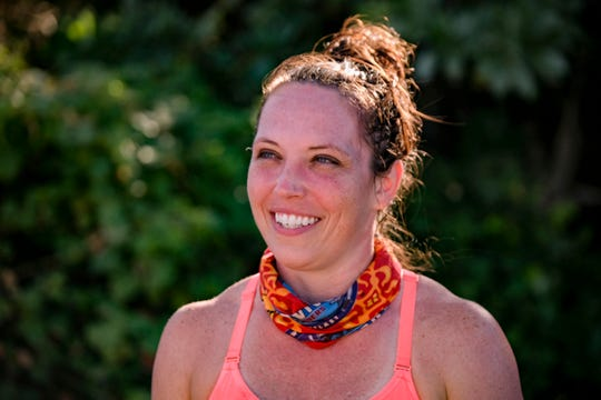 """Sarah Lacina is competing on """"Survivor: Winners at War."""""""