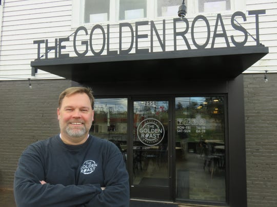 """""""I think (Marble City is) the next place that is up and coming,"""" said Golden Roast owner Don Payne. """"My wife and I fell in love with the community and wanted to get in here and contribute to the growth.""""  The business' Sutherland Avenue location opened on Jan. 13. (Jan. 27, 2020. )"""