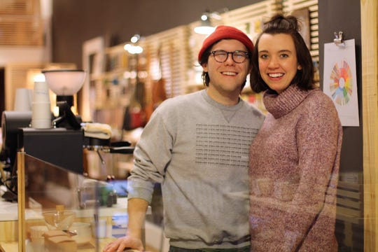 Mark Lilly and his wife, Kendall, owners of Highline Coffee and Ivy Knoxville, hit it off with Katherine and Logan Higgins, owners of Jacks of Knoxville, at the store's grand opening. Since then, Highline Coffee has rolled to a stop and set up a permanent shop inside the gift shop. Kendall Lilly started Ivy Knoxville, a pop-up plant shop, last September. January 2020