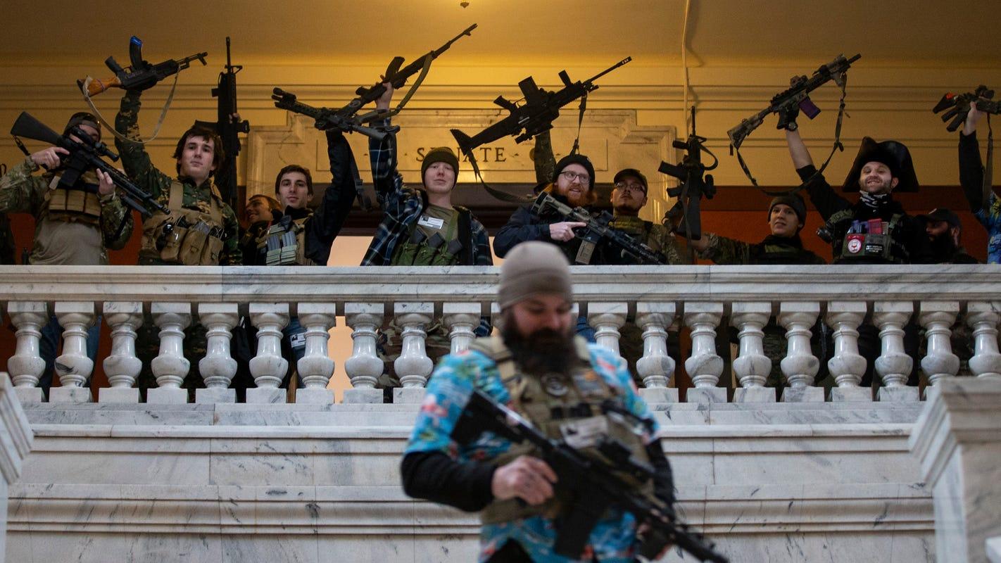 Gov. Andy Beshear: Rules weren't followed when gun activists entered Kentucky Capitol