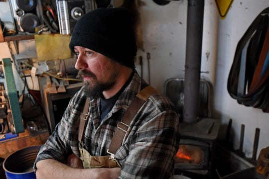 """Dustin Parrella will be featured on """"Forged in Fire"""" on Wednesday evening on the History Channel."""