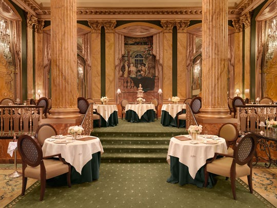 Chez Philippe is located in the historic Peabody Memphis hotel.