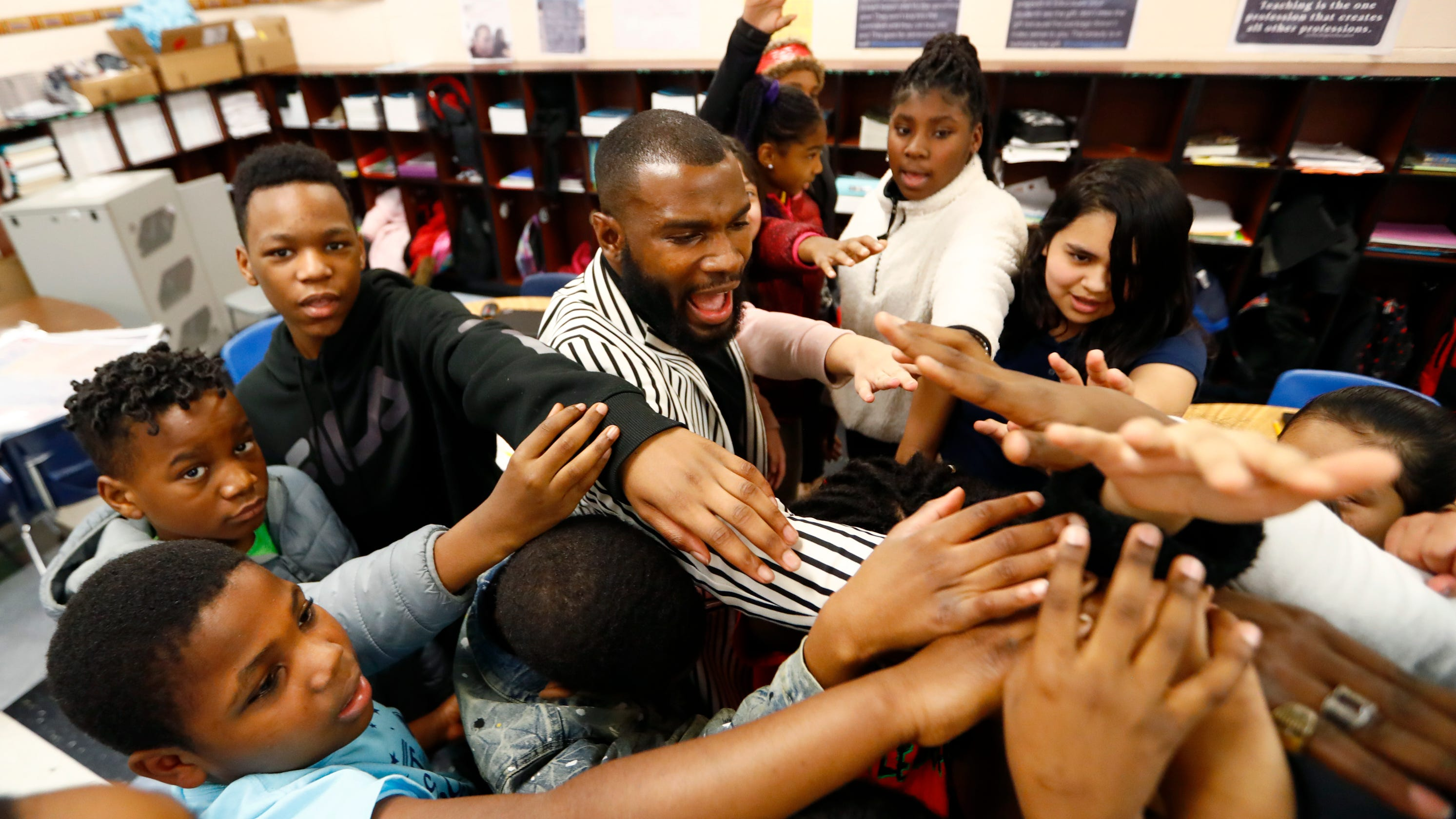 'Not happenstance': Male teachers of color make a difference at Memphis schools