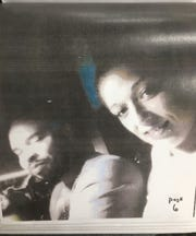 Eric Kelly and Bridgett Stafford in an undated photo. This picture of the pair together was used as evidence in a Memphis Police Department investigation into Kelly's actions. The Commercial Appeal obtained it through a public records request.