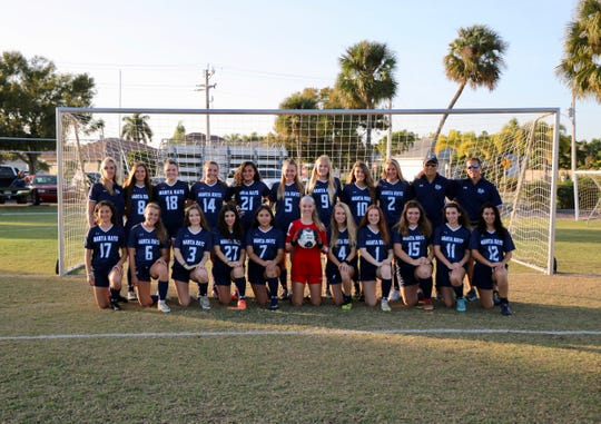 The 2019-20 Marco Island Academy girls soccer team has set the school record with 17 wins. The Manta Rays now aim for their first-ever district championship. That effort starts with Tuesday's semifinal game against either Seacrest Country Day or St. John Neumann.