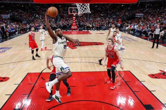 Bucks forward Khris Middleton will be joining teammate Giannis Antetokounmpo in Chicago for the All-Star Game on Feb. 16.