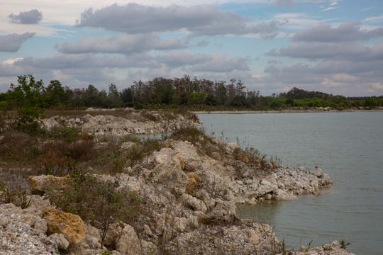 The land Bg Mine LLC hopes to develop is pictured on Friday, Jan. 30, 2020 in Bonita Springs.