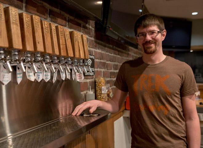 John Ream, the brewery operations & owner of TREK Brewing in Newark.