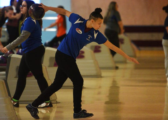 Margaux LesserThe inaugural Bergen County girls individual bowling tournament