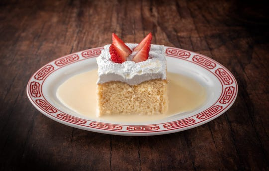 Dessert at Kuba, the year-old Cuban restaurant in Fort Lee
