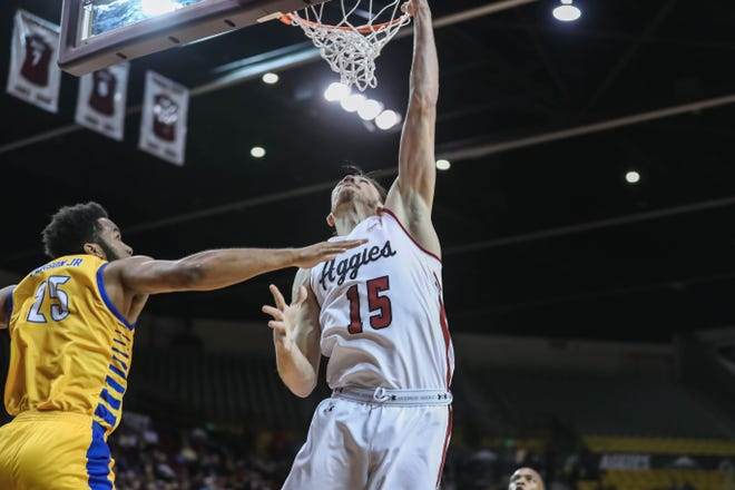 New Mexico State is set to host Grand Canyon on Saturday at 7 p.m. at the Pan American Center.