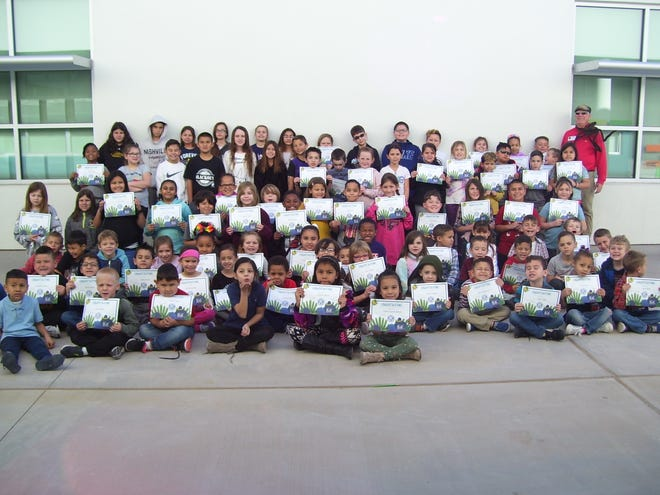 Sunset Hill Elementary had 99 students qualify for BUG honor roll. Alamogordo Kiwanis Club announced its January 2020 BUGs.