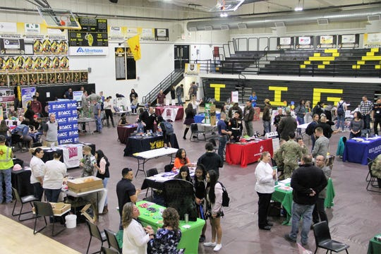 Alamogordo High School held its 11th annual Career Expo at the Lawrence E. Johnson Tiger Pit Jan. 31.