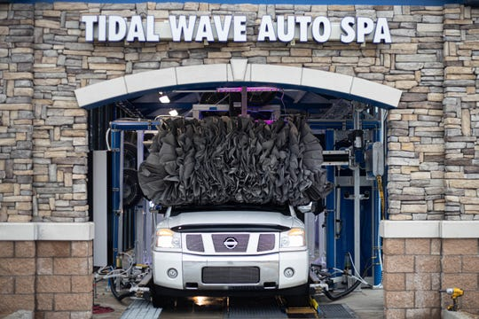 Tidal Wave Auto Spaat 4976 U.S. 90 in Pace offers drivers the spa treatment for their dirty cars.
