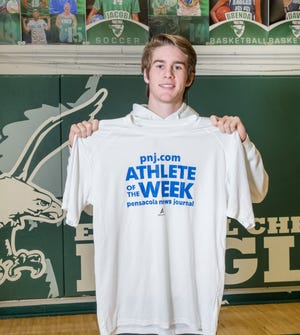 Athlete of the Week - East Hill Christian School soccer player Jacob Dickson on Friday, Jan. 31, 2020.