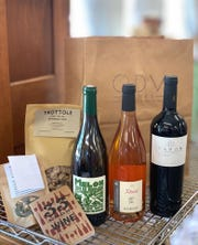 For $50 every other month, ODV Wine Club members get three bottles of wine along with a surprise food item such as locally made pasta and a recipe.