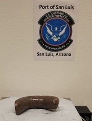 Customs officers at the San Luis port of entry are seeing an increase in teenagers caught smuggling fentanyl, like this case from September, when officers arrested a 17-year-old with fentanyl pills strapped to his body.