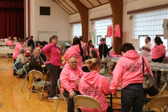 A group of all volunteers led by the founders of the nonprofit Harley's Project 236 held a community memorial for the late teen in Port Clinton on Saturday, Jan. 25.