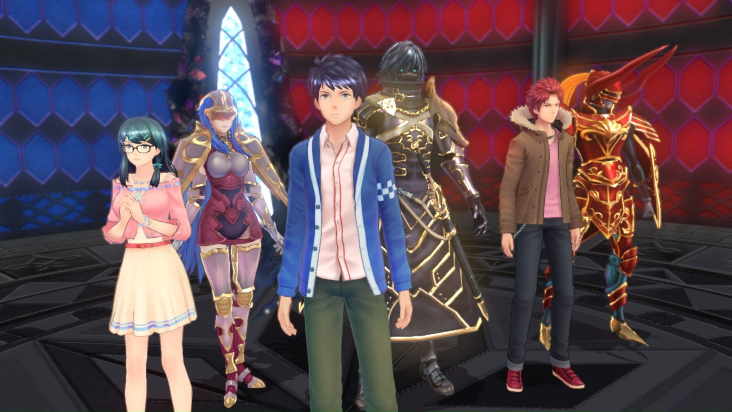 Tokyo Mirage Sessions ♯FE Encore for the Nintendo Switch.