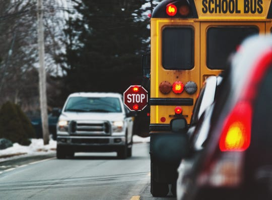 A city school bus driver has been charged with assaulting a 9-year-old student.