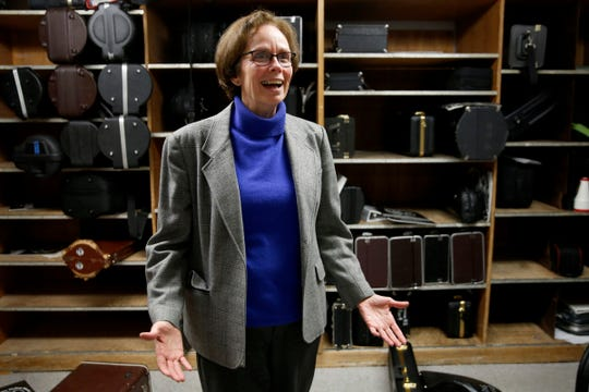 Mary Lou Boderman, the Salem-Keizer Public Schools Coordinator of Music and Drama, is retiring this year. Photographed South Salem High School on Jan. 31, 2020.