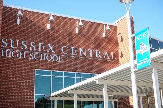 Sussex Central High School on Friday, Jan. 17, 2020.