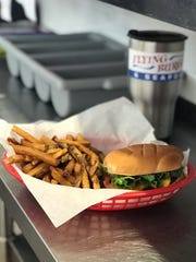 Cheeseburgers and handcut fries at Flying Burger & Seafood, opening Feb. 3 in Shreveport.