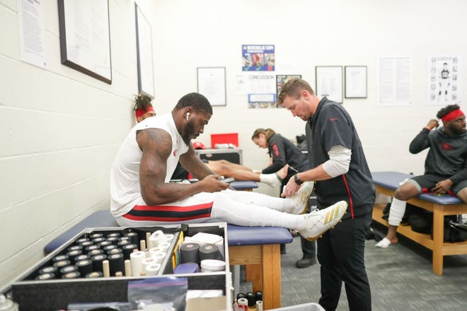 Former USD athlete Dustin Little is now the head trainer of the San Francisco 49ers