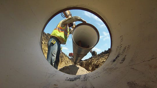 Carstensen Contractors recently won three bids on the Lewis & Clark Regional Water System project.