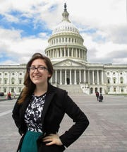 Lindsay Duede is the president of Drury University Young Democrats.