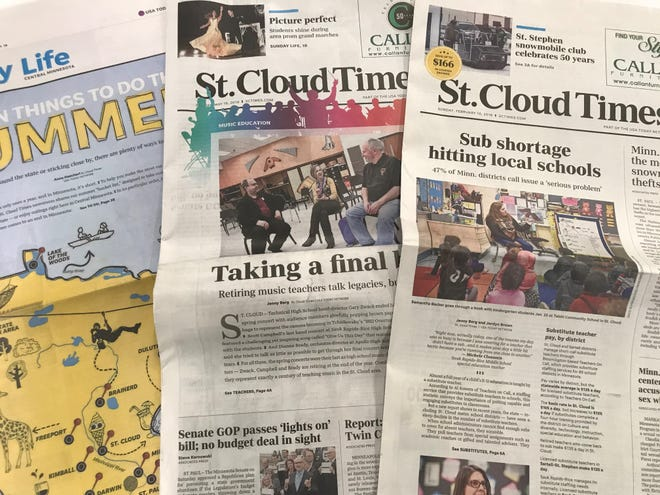 The St. Cloud Times took home 20 awards for outstanding journalism and advertising excellenceat the annualMinnesota Newspaper Association's Better Newspaper Contest.