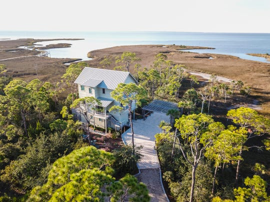 Lee Shore is one of the seven homes on the St. George Island Tour of Homes on Feb. 8.