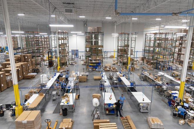 Tamco consolidated six facilities into its new facility in the Center for Commerce in Port St. Lucie. The 411,000-square-foot building has 9 acres under its roof.