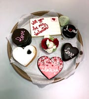 "Lots to ""love"" at The Snackery Bakeshop in Larchmont."