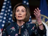 Speaker of the House Nancy Pelosi speaks during her weekly press conference on Jan. 30, 2020.