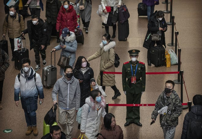 On Jan. 30, the World Health Organization declared coronavirus a global health emergency. The Centers for Disease Control has advised against all nonessential travel to China. Chinese officials said as of Jan. 31, there were 9,800 cases and 213 deaths.