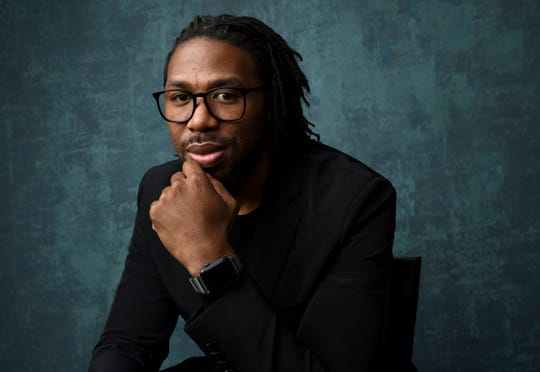 Matthew A. Cherry during a portrait session at the 92nd Academy Awards Nominees Luncheon in Los Angeles on Jan. 27, 2020.